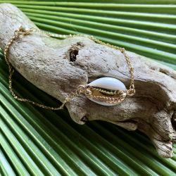 Bracelet de cheville cauri