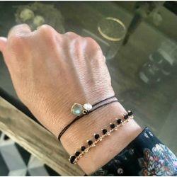 Le bracelet Labradorite.