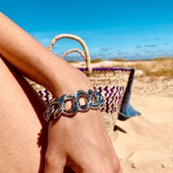 Le bracelet grosse maille