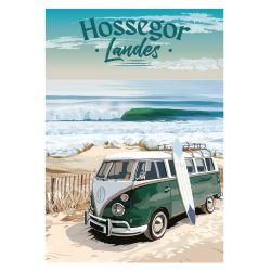 Carte postale côte ouest