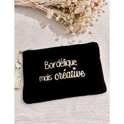 """La pochette """"bordélique"""""""