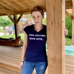 """T-Shirt """"From Arcachon with..."""