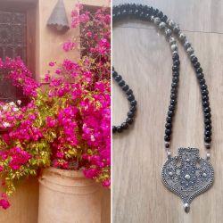 """Sautoir """"Retour de Marrakech"""""""